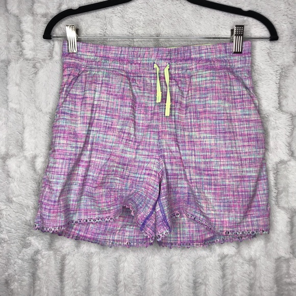 8641c25b6 Ivivva Other - Ivivva Lululemon Girls Purple Blue Athletic Shorts